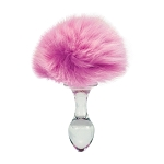 Crystal Delights Removable Bunny Tail Plug
