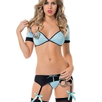 Elegant Moments Police/Cop Lingerie Costume