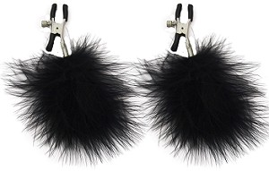 Sex & Mischief Feathered Nipple Clamps